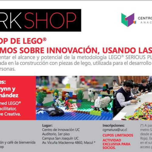 """Llave Creativa imparte workshop en Centro de Innovación UC: """"Discutamos sobre innovación, usando las manos"""""""